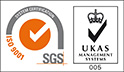 SGS ISO certification logo